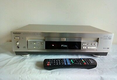 Technics  DVD audio/video player/ DVD -A 10 with remote/ RARE!
