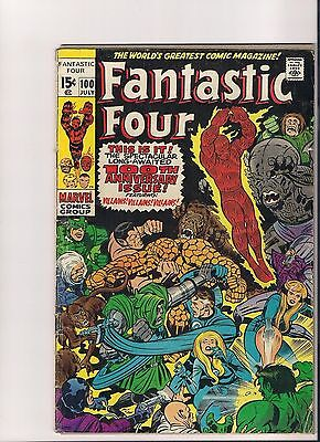 Fantastic Four LOT of 19 Issues Nice Run #100 to #119 (Missing #112) VF/VF+ Lot