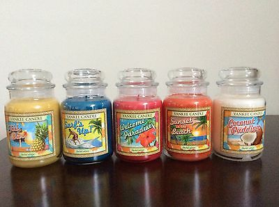 Yankee Candle Limited Edition Aloha Collection