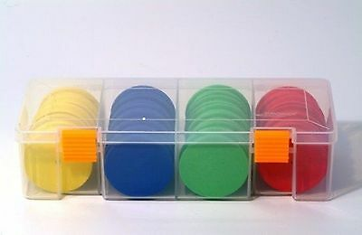 Tronixpro Rig Winder Storage Box Complete With 20 Winders Mixed Colours