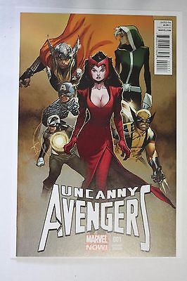 Uncanny Avengers 1 Variant 1:00 Coipel Variant Scarlet Witch