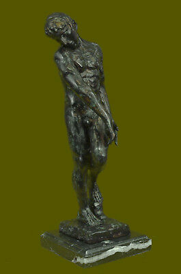 Adam By Auguste Rodin Sculpture reproduction Known as Shadow of Hell Bronze Sale