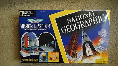 Micro Machines Mission Blast Off Transforming Action National Geographic APOLLO