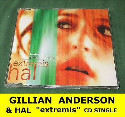 GILLIAN ANDERSON extremis HAL CD single * X Files Duchovny Dana Scully * mint