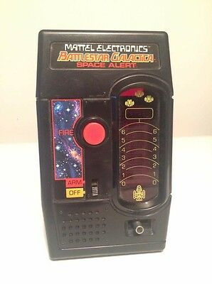 BATTLESTAR GALACTICA - 1978 Electronic Handheld Game by Mattel