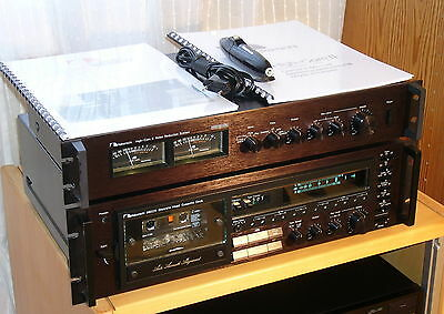 Nakamichi 680ZX Stereo Cassette Deck +  High-Com II NR System! Sounds fantastic!