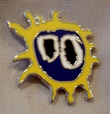 Primal Scream 'screamadelica' enamel badge. Stone, Mod, Indie, RosesTickets