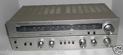 Realistic STA-204 AM/FM Stereo Receiver - Tested & Works Great