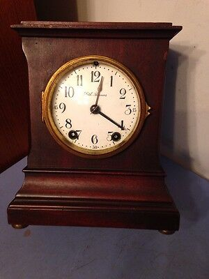 Sweet Little Seth Thomas Mantle Clock Turin Model Antique
