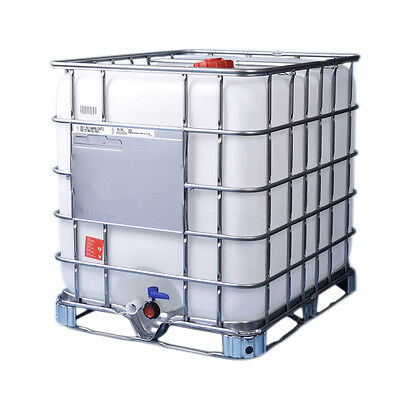1000L IBC tanks - single use, washed and ready - AS NEW!
