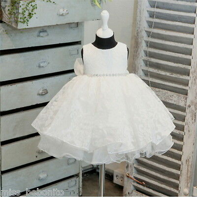 Lucy Princess Baby Flower Girl Formal Dress Christening Birthday Gift Bridesmaid
