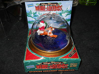 Rudolph The Red-Nosed Reindeer Very Merry Whirlaround Christmas Ornament