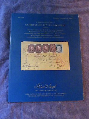 RA Siegel 1996 Sale 784 US COVERS & HAWAII COLLECTIONS Auction Catalogue