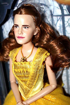 Belle - Disney store Beauty and the Beast Film Collection Doll Live action Movie