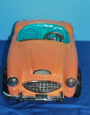 1962-65 Barbie's Austin Healey 3000 Car in Good Used Condition