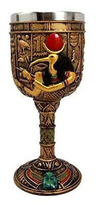 Fantasy Collection Ancient Egyptian Tech God Thoth 6oz Goblet Cup Home Decor
