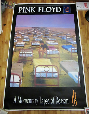Pink Floyd A Momentary Lapse Of Reason Vintage Giant Poster 1987
