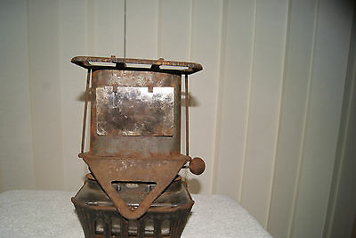 Antique Railway / Miners / Camping Lantern Stove 1800'S Mica