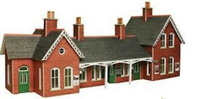 HO/OO Scale Metcalfe Card Kit - Country Station - #PO237