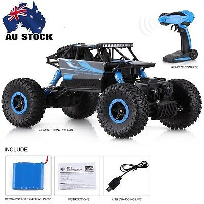 1/18 4WD 2.4Ghz 4CH RC CAR High Speed Remote Control Racing rock Crawler Truck