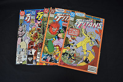 Team Teen Titans Comic Lot 5 Books 2 3 4 5 6 NM Nightwing Donna Troy
