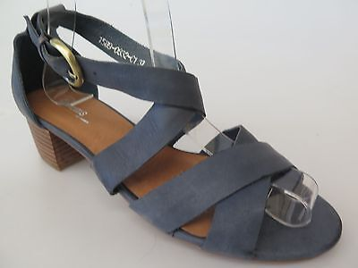 $30 Clearance - Gamins - new ladies leather sandals size 37 / 6.5 #96