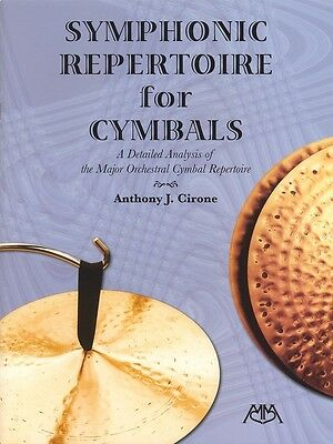 Symphonic Repertoire for Cymbals - Drum Music Book