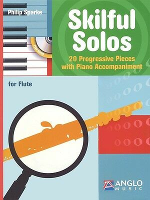 Skilful Solos - Flute Music Book with Piano Accompinament and CD
