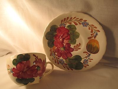 Belle Fiore Cup & Saucer   Made in England