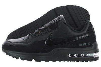 db2037d904c60 NIKE AIR MAX LTD 3 MENs BLACK BLACK LEATHER Grey RUNNING NEW SZ 8 9.5 10.5  11