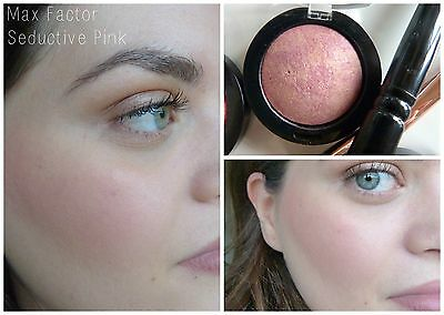 Max Factor Creme Puff Bleush Fard A Joues 15 Seduction Pink