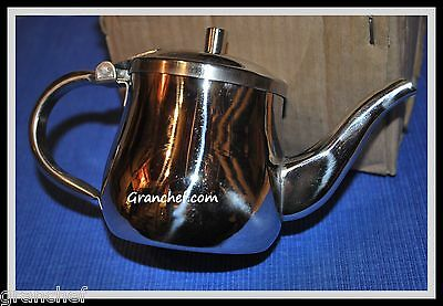 Teapot ~ Stainless Steel ~ 10 oz. Gooseneck Style Server ~New In Box
