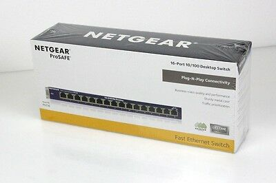 NETGEAR FS116GE Fast-Ethernet-Switch Unmanaged