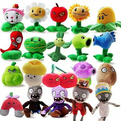 PLANTS vs. ZOMBIES Plush Figure Toy Doll 30CM Kids Cute Soft Doll Baby Gift NEW