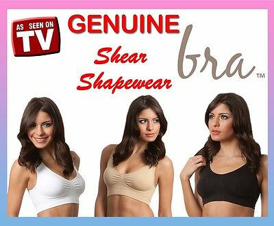 Br3x GENUINE Shear Shapewear Seamless Sports functional comfort bra ahh so comfy