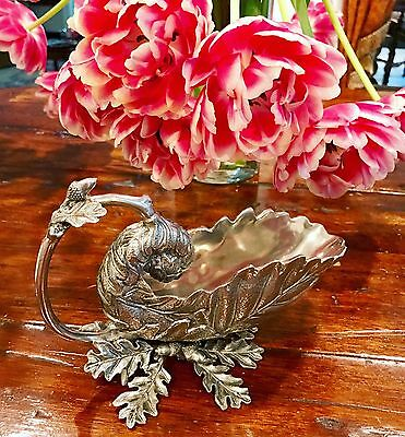 Vagabond House Pewter Oak Leaf Gravy Boat!!!