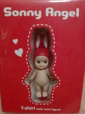 Sonny angel 2016 special color Red Rabbit mini figure with T shirt super Rare