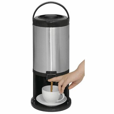 Olympia Insulated Beverage Hot Drink Dispenser 3Ltr - Stainless Steel