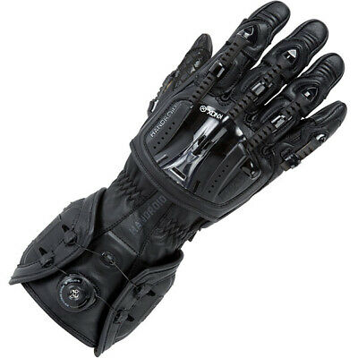 Knox Handroid Glove Mechanical Exoskeleton Motorcycle Motorbike Black