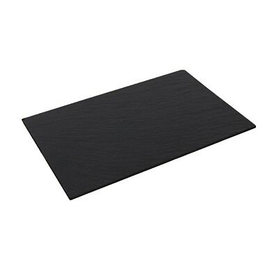 2x Olympia Slate Platter for CM061 Tray 280x180mm Kitchen Buffet Food Serving