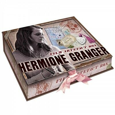 Harry Potter Hermione Granger Artefact Box Licensed by The Noble Collection NEW