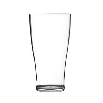 50x Polycarbonate Conical Glasses 425ml Cocktail Drinking Tumbler Restaurant Bar