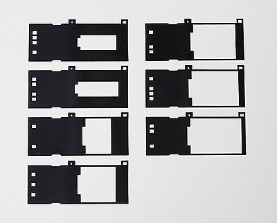 Replacement Mask Set for Nikon FH-869GR Glass Film Holder for 8000 /9000 scanner