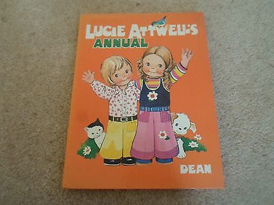 Vintage Book - Lucie Attwell's Annual Cover+Illustrations by M L Attwell 1973