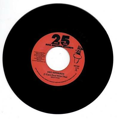 DEE EDWARDS (I Can) Deal With That NEW MODERN 70s SOUL 45 (SOUL BROTHER) R&B