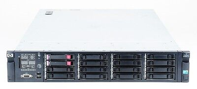 HP ProLiant DL380 G7 Server 2x Xeon E5645 6-Core 2.4 GHz 16 GB RAM 292 GB SAS