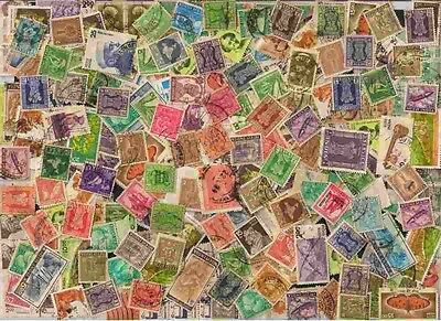 India Off Paper Kiloware 5000 Definitives Used Stamps Mixture #2