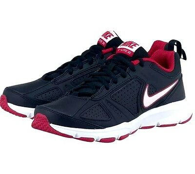 Ladies Womens Nike T Lite Xl Trainers Running Shoes Black/Pink UK 3.5 EUR 36.5