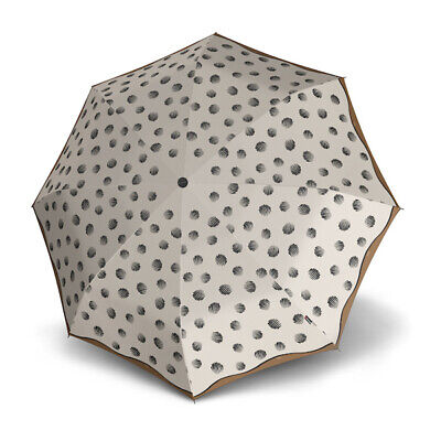 Umbrella by Knirps - T.200 Duomatic Comet Creme (UV Protected)