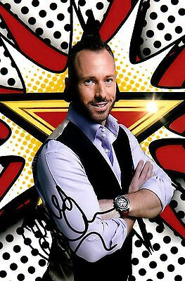 JAMES JORDAN SIGNED 6x4 PHOTO - Big Brother / Strictly